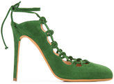 Alexa Wagner lace-up sandals - women - Leather/Suede - 36