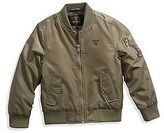 GUESS Bourne Nylon Bomber Jacket (4-16)