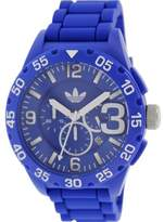 adidas Men's Newburgh ADH2794 Blue Silicone Quartz Watch