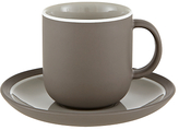 John Lewis Puritan Espresso Cup & Saucer, Mocha
