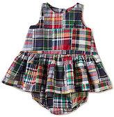 Ralph Lauren Baby Girls 3-24 Months Madras-Plaid Patchwork Dress