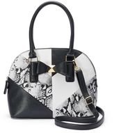 Apt. 9 Piper Bow Domed Convertible Satchel