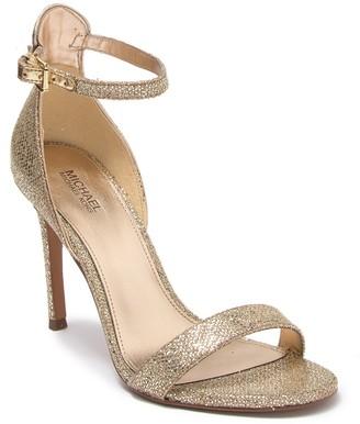 MICHAEL Michael Kors Harper Metallic Stiletto Sandal