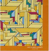 Richard James Mondrian Geometric Silk Pocket Square