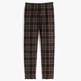 J.Crew Petite Martie pant in Stewart plaid bi-stretch wool