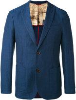Al Duca D'Aosta 1902 - woven jacket - men - Cotton/Linen/Flax - 50
