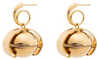 Panconesi Gold Vermeil Opal Earrings