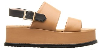 Tosca Sandals Mauritius Brown Leather