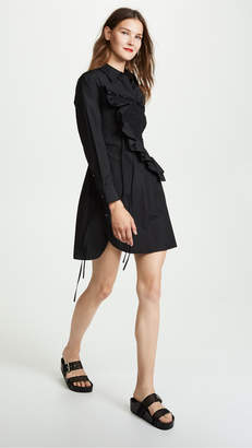 3.1 Phillip Lim Asymmetrical Shirtdress