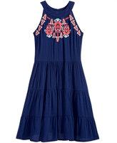 Beautees Boho Dress, Big Girls (7-16)