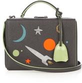 Mark Cross Grace small galaxy-panel leather box bag