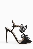 Giambattista Valli Double Ruffle Strap Sandals