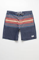 "Katin Blanket Striped 18"" Boardshorts"