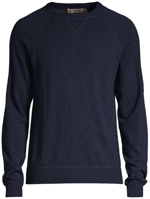 G/Fore Slim-Fit Merino Wool Ribbed Pullover