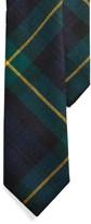 Ralph Lauren Tartan Wool Narrow Tie