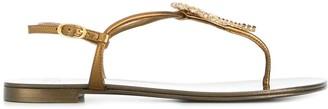 Giuseppe Zanotti Tropical Beach Sandals