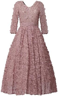 Matsour'i Cocktail Dress Jasmin Dirty Pink