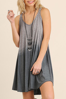 Umgee USA Dip Dye Swing Dress