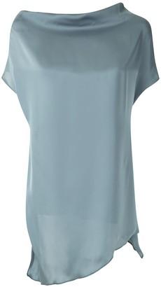 drape neck Cabot blouse