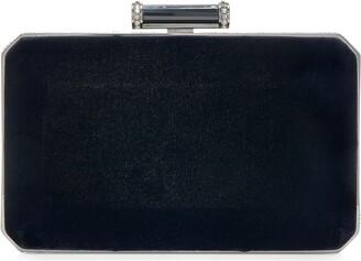Judith Leiber Soho Velvet Clutch Bag