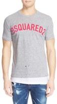 DSQUARED2 Double Hem Logo T-Shirt