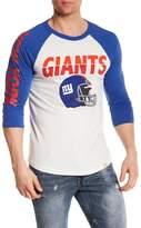 Junk Food Clothing New York Giants Raglan Tee