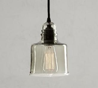 "Pottery Barn Paxton Glass 8"" Pendant"