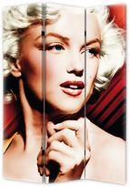 Monroe Marilyn Red Spotlight Folding Screen