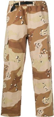 Stussy Camouflage Print Cargo Trousers