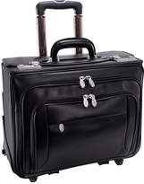 McKlein McKleinUSA Sheridan 15.4 Leather Detachable -Wheeled Catalog Briefcase