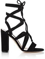 Gianvito Rossi Women's Lace-Up Gladiator Sandals-BLACK