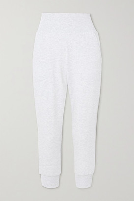 Nike Flow Hyper Stretch-jersey Sweatpants - Light gray