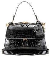 Victoria Beckham Full Moon Small Embossed Leather Tote
