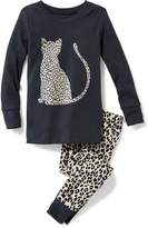 Old Navy 2-Piece Leopard-Graphic Sleep Set for Toddler & Baby