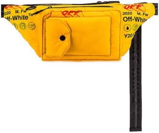 Off-White Off White Industrial Fanny Pack in Yellow | FWRD
