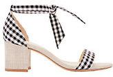 Alexandre Birman Clarita Gingham Sandals