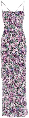 Bec & Bridge Floral Print Silk Dress