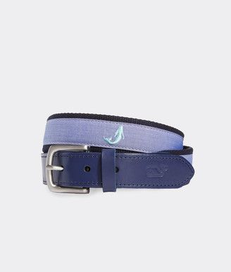 Vineyard Vines Mermaid Canvas Club Belt