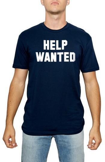 Kid Dangerous Men's Help Wanted T-Shirt