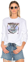 Carven Graphic Sweatshirt in White. - size L (also in M,S)