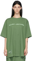 Thumbnail for your product : Marc Jacobs Green 'The Big T-Shirt' T-Shirt