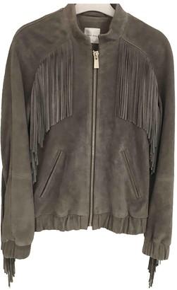 Anine Bing Grey Suede Jackets