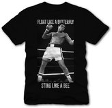 C-Life Muhammad Ali Tribute T Shirt - Cotton Screen Print (X-Large, Float Like a Butterfly, Sting Like a Bee)