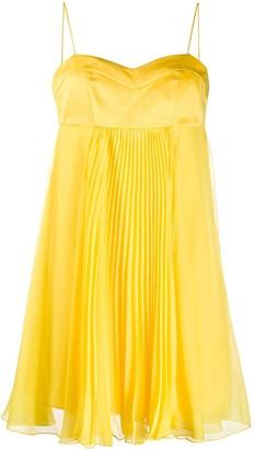 Pinko Layered Pleated Mini Dress