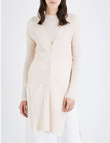 See by Chloe Side-split wool cardigan