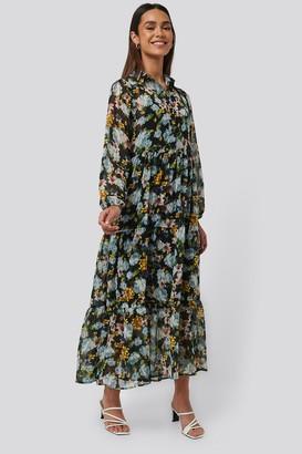 MANGO Poma Dress Multicolor