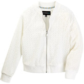 My Michelle mymichelle Lace Bomber Jacket (Big Girls)