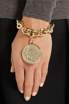 Givenchy Small medallion bracelet in gold-tone metal