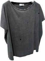 Faith Connexion Anthracite Cotton Top for Women
