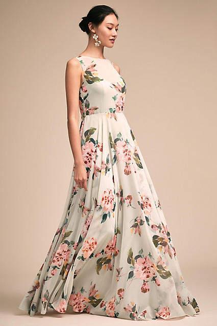 Anthropologie Liz Wedding Guest Dress